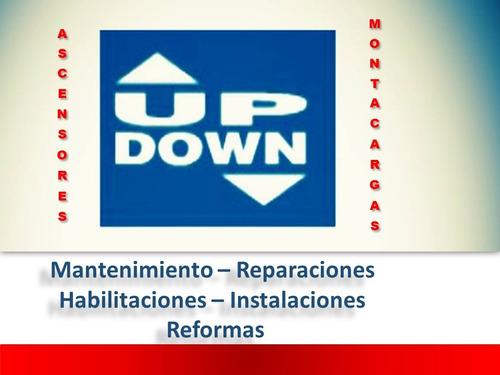 montacargas, mantenimiento habilitacion reparación instal