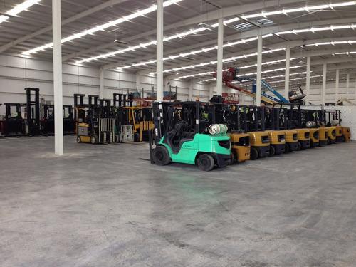 montacargas mitsubishi 2000 electrico 6000 lb modelo 2fbc30