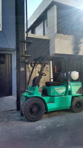 montacargas mitsubishi 2003 6000 lbs