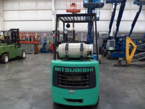 montacargas mitsubishi 4000 lb gas lp modelo fgc20