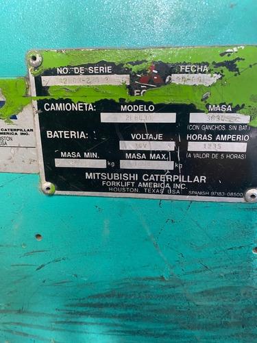 montacargas mitsubishi  eléctrico usado