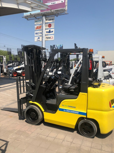 montacargas modelo cf80 de 8,000 lbs unicarriers