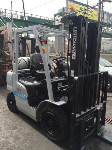montacargas nissan 2014 pf50 de 5,000 lbs