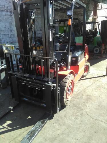 montacargas redlift de 3.5 ton de capacidad (seminuevo 2018)