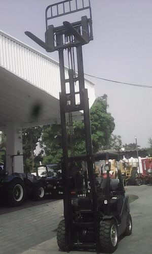 montacargas royal 3 toneladas triplex nuevo renta / venta