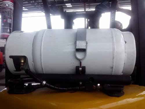 montacargas tanque de gas lp