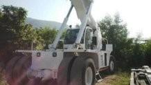 montacargas terex  reach stacker  contenedores llenos 1996