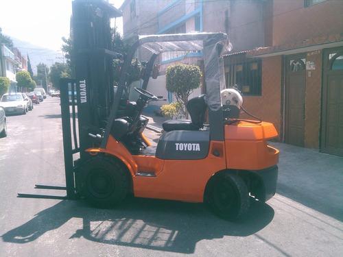 montacargas toyota 2006