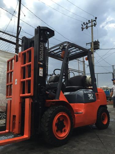 montacargas toyota 2006 de 6,000 lbs