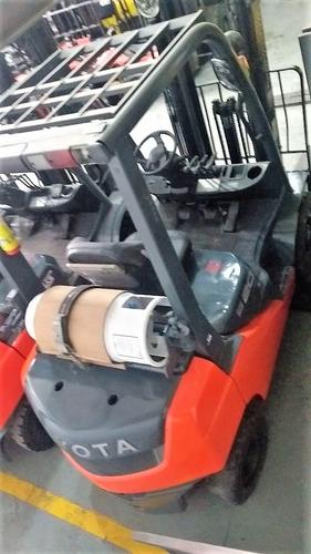 montacargas toyota  4,000 lbs $267,000 precio especial