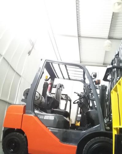 montacargas toyota  5,000 lbs 2014 4ta valvula garantizado