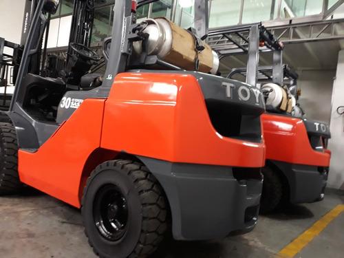montacargas toyota 6000 lbs 2013 seminuevo garantizado