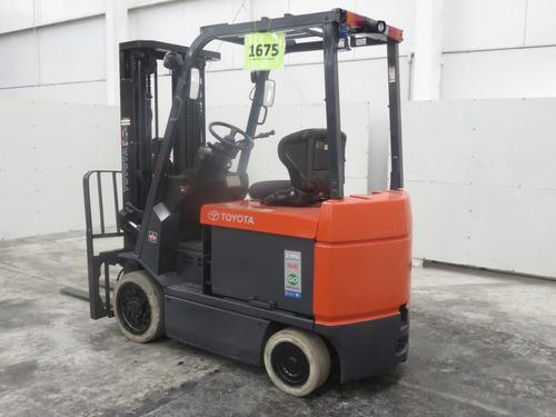 montacargas toyota electrico 6500 lb modelo 7fbcu32