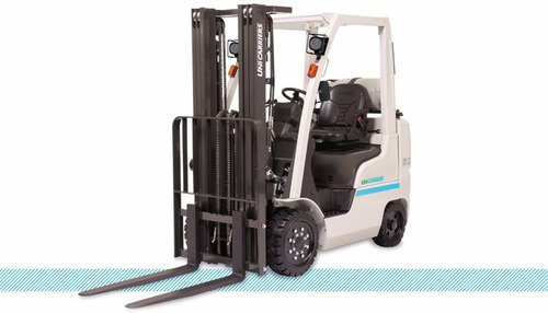 montacargas unicarriers 6000lbs cushion