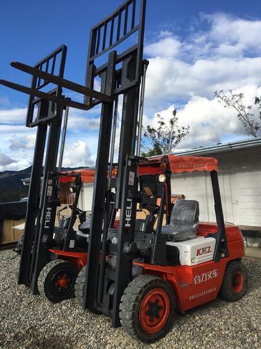 montacargas usados heli elevadores apilador 3 toneladas 2017
