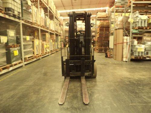 montacargas yale 2001 electrico 6000 lb