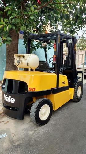 montacargas yale 2007 10,000 lbs 5 toneladas toyota