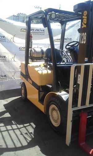 montacargas yale 2010 capacidad 5000 lbs