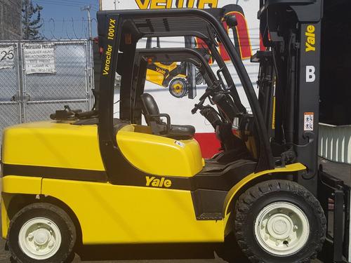 montacargas yale 2010, para 10,000 lbs, 5 toneladas