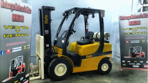 montacargas yale 2011 6000lbs (nissan, toyota, hyster, cat)