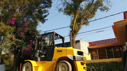 montacargas yale 2012 7 toneladas toyota cat nissan seminuev