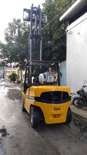 montacargas yale 2013 seminuevo 5 toneladas tel.5543231001