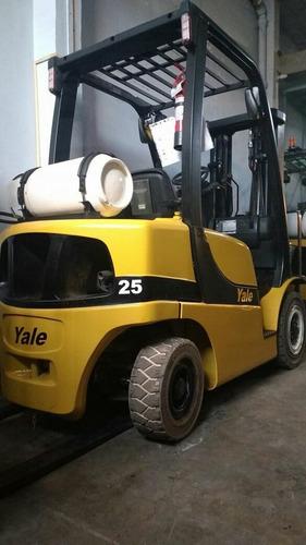 montacargas yale 5,000 lbs  2011 $245,000 precio fin de año