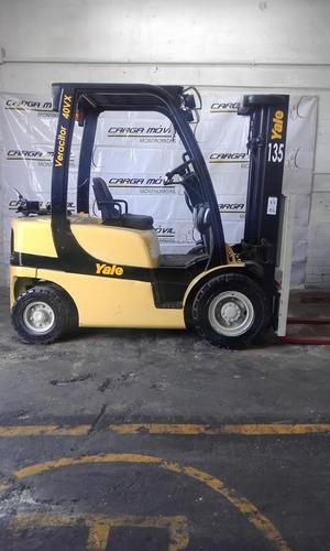 montacargas yale capacidad 4000 lbs, 2012,
