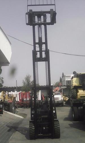 montacartas royal de 3 toneladas triplex gasolina / gas l p