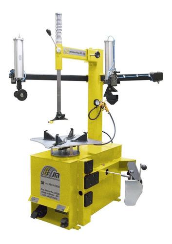 montadora e desmontadora de pneus - montadora elétrica mdl-650 aro 13 ao 22 ( trifásico) jm máquinas