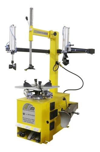 montadora e desmontadora de pneus - montadora elétrica mdl-700  aro 13 ao 22 (trifásico) jm máquinas
