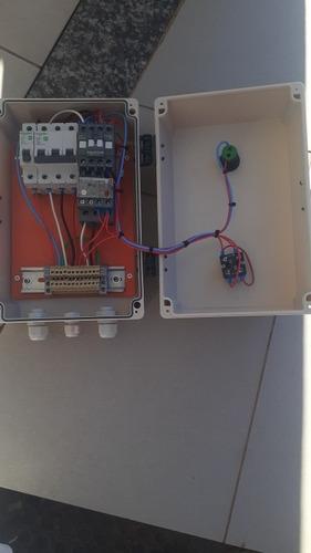 montagem de painéis elétricos pra motores/ moto bombas