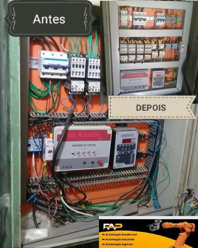 montagem de painéis para controle e automação.