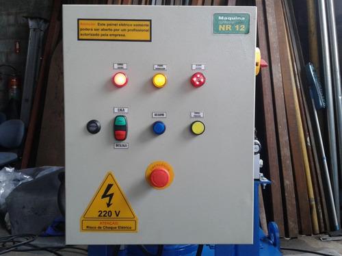 montagem de painel eletrico com norma nr10 e nr12