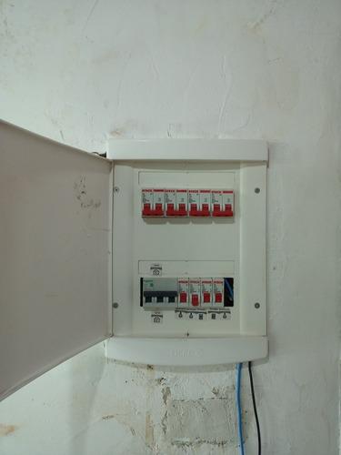 montagem de quadro elétrico