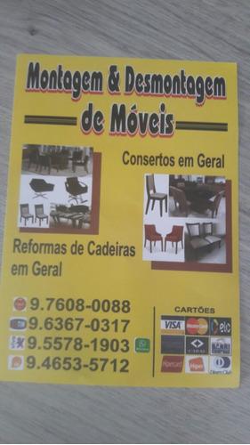 montagem desmontagem de móveis e consertos em geral reforma