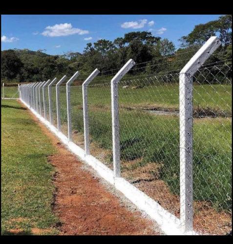 montagens de cercas de alambrados.