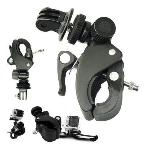 montaje ajustable + adaptador de tripode para gopro y camara