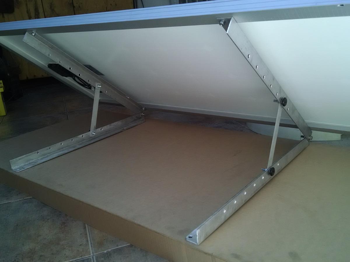 Montaje Aluminio Para Panel Solar 18 000 En Mercado Libre
