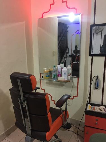 montaje de peluquería completo