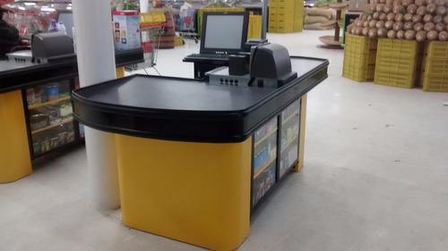 montaje de supermercados
