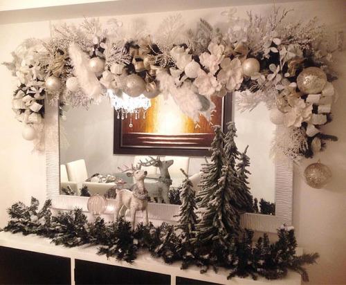 montaje navideño, árbol navideño y cenas especiales
