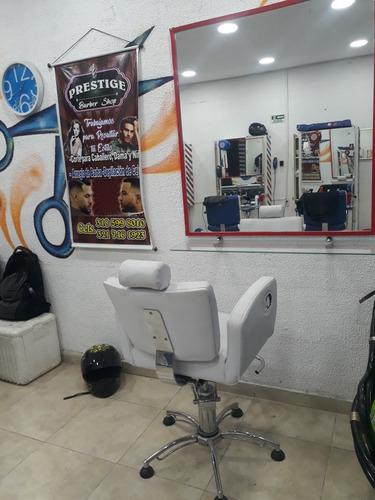 montaje para barberia