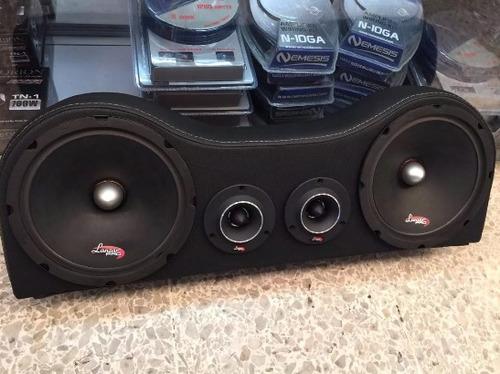 montaje para sonido de carro sin parlanteria nuevo