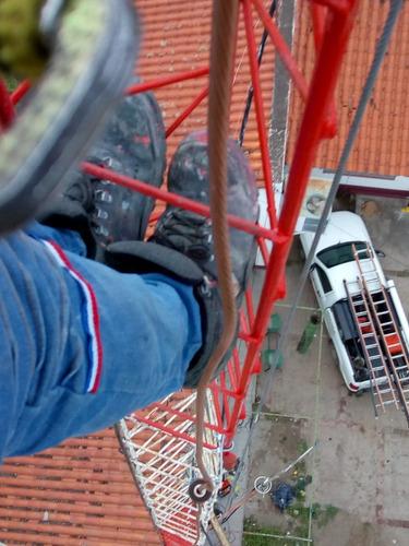 montaje y desmontaje torres de comunicaciones y antenas