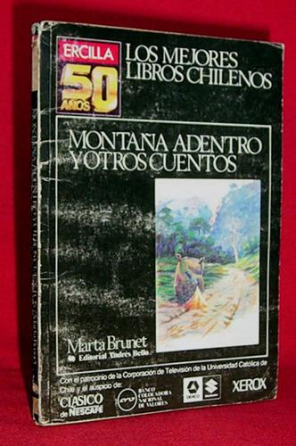 montaña adentro y otros cuentos marta brunet