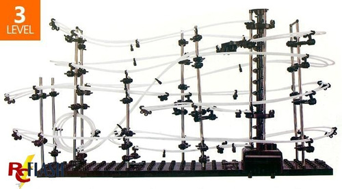montaña rusa spacerail nivel 3 de 16 mts anti playstation