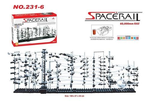 montaña rusa spacerail nivel 6 de 60 mts anti playstation