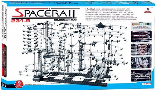 montaña rusa spacerail nivel 9 de 70 mts para armar dificil