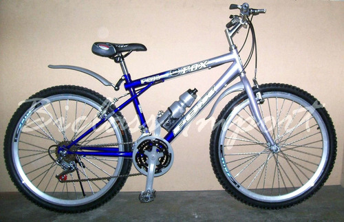 montañera aro bicicleta